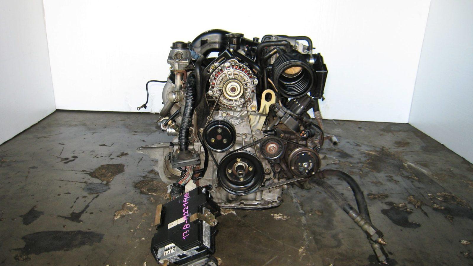 JDM 13B 1 3L 6 PORT ROTARY ENGINE 6 SPD TRANS ECU RENESIS 13B RX8