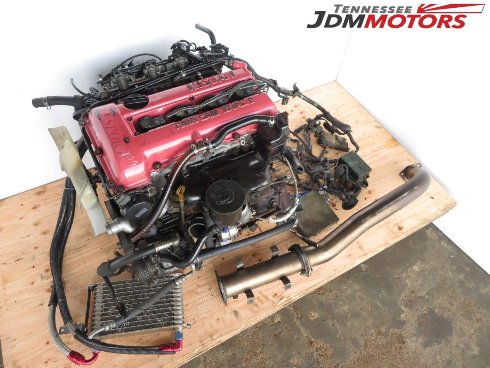 Jdm Nissan Silvia Sr20det S13 Blacktop Engine Sr20det S13 Engine Only Tennessee Jdm Motors